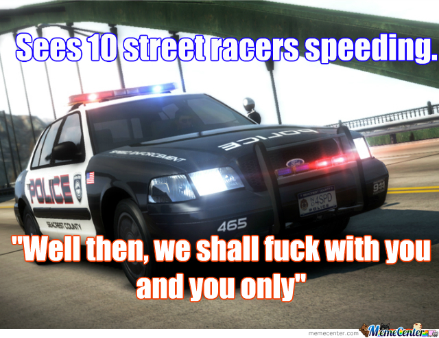 Need For Speed Cops Logic.