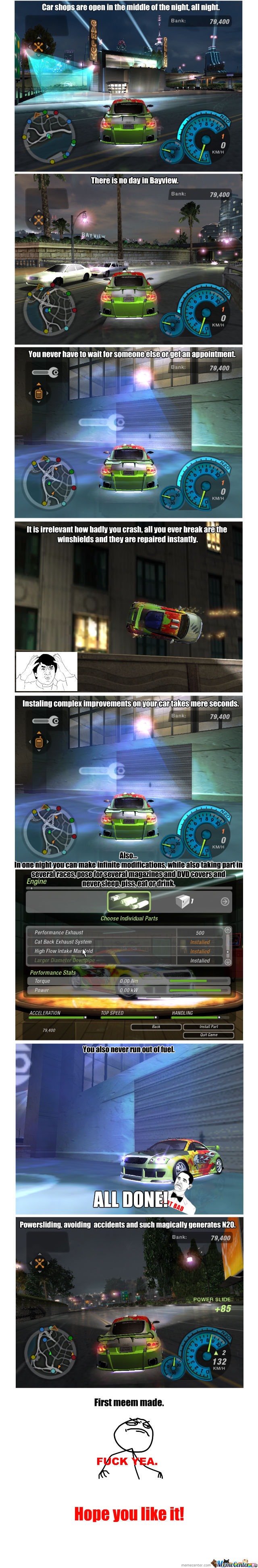 Need For Speed Underground 2 Logic by peroman200 - Meme Center