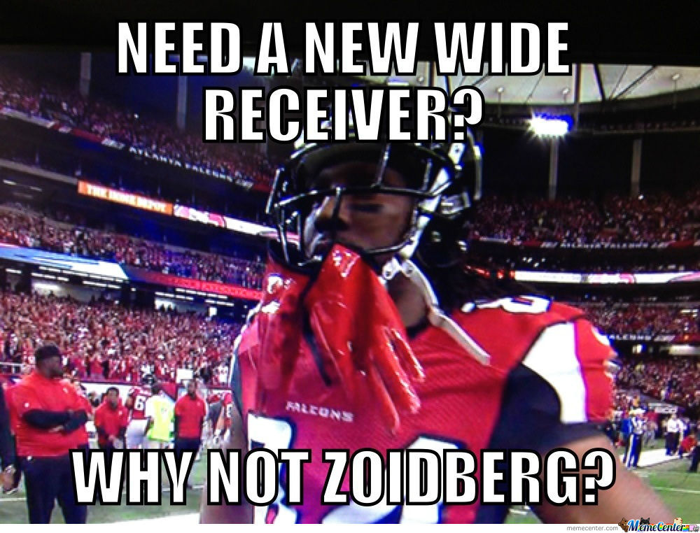 Need Wide Receiver?