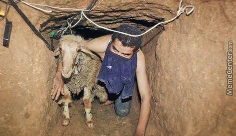 Network Of Tunnels Dug And Used By Some Mujahideen(Isis) To Smuggle Prostitutes Into Raqqa