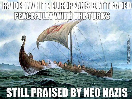 Never Made Sense To Me Why Extreme Right Wing Parties In Scandinavia Use The Vikings As A Symbol