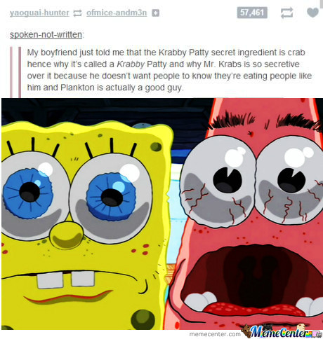 Never Seeing Mr. Krabs The Same Way Again