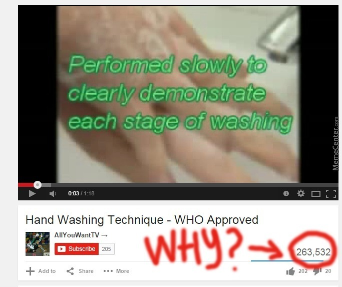 """Never Too Late To Master Your Hand Washing """"technique"""""""