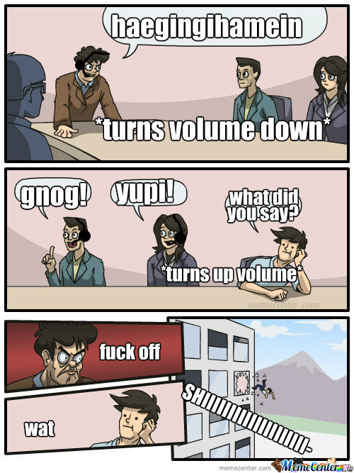 Never Turn Down Your Volume
