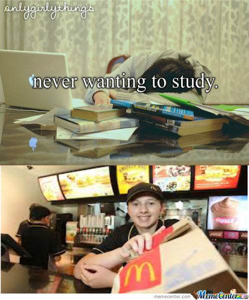 Never Wanting To Study