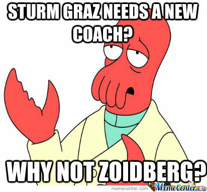 New Coach For Sturm