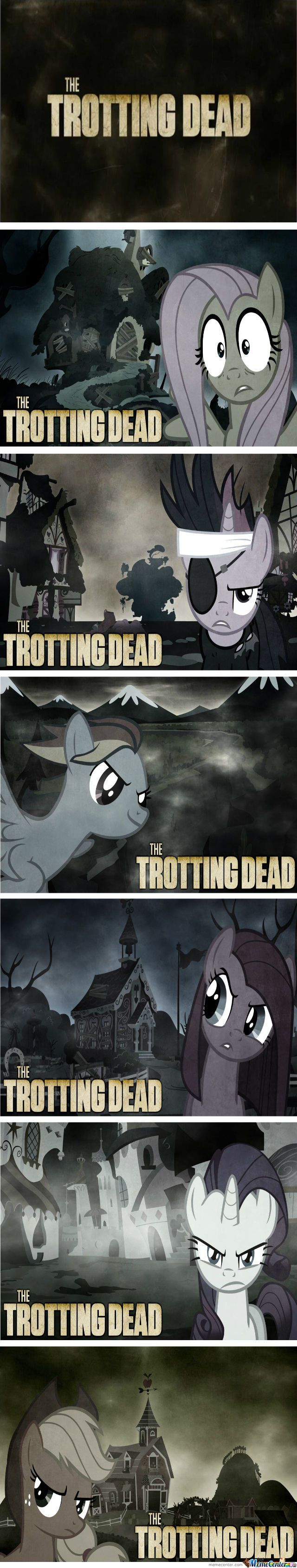 New Grimdark Ponies: The Trotting Dead