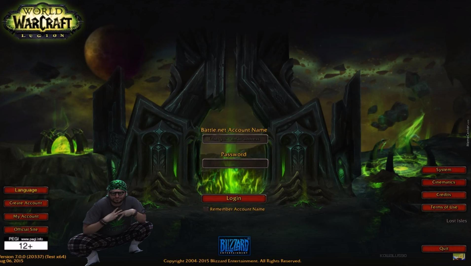 New Loading Screen For Wow Legion By Kowalus90 Meme Center