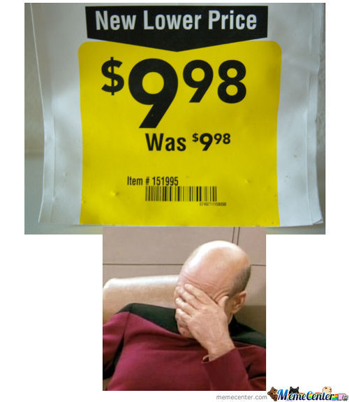 New Lower Price... I Don't Think So.
