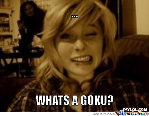 new meme whats that girl whats a goku_o_402403 new meme what's that girl what's a goku?? by shinigamipower