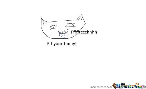 New Meme: Pfftcchhhh Your Funny Cat