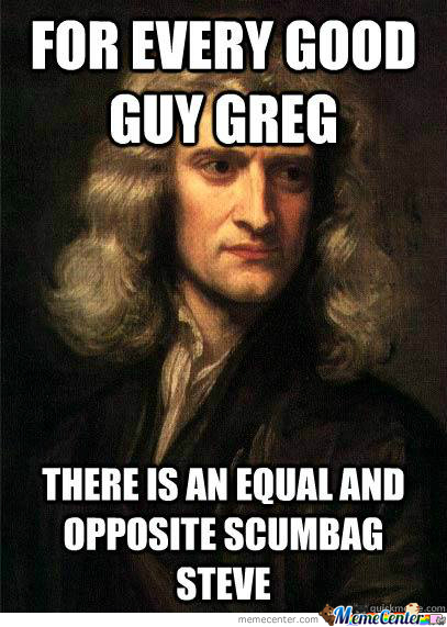 newton amp 039 s third law of motion_o_1777883 newton's law of motion memes best collection of funny newton's,Meme Law