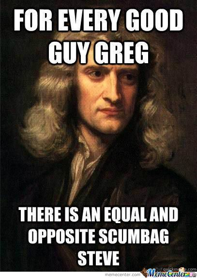 Newton's Third Law Of Internet Memes