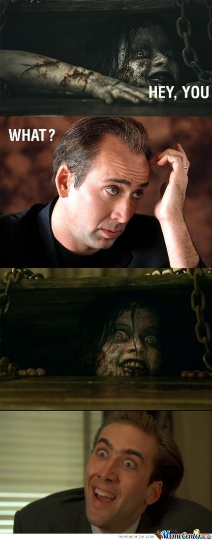 Nicholas Cage And Evil Dead