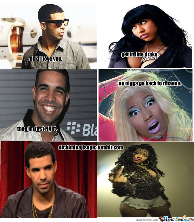 nicki minaj amp drake by destinythompson meme center