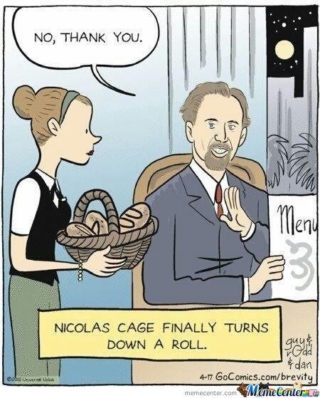 Nicolas Cage Finally Turns Down A Roll