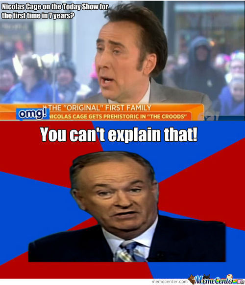 Nicolas Cage On The Today Show