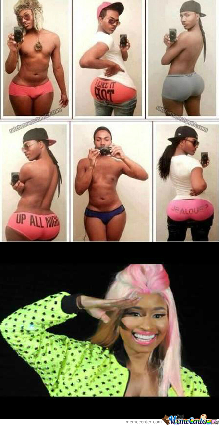 Niki Minaj: Male Version