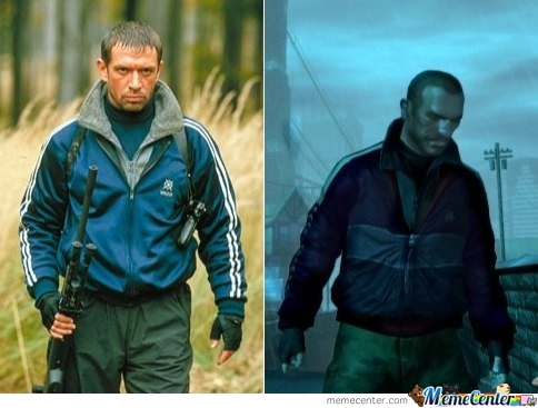 niko bellic gta iv look a like by recyclebin meme center