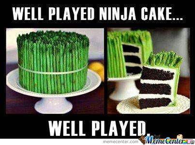 Ninja Cake by phillipinesbrony - Meme Center