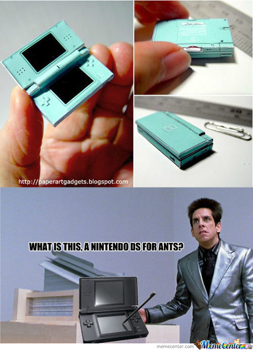 Nintendo Ds For Ants...