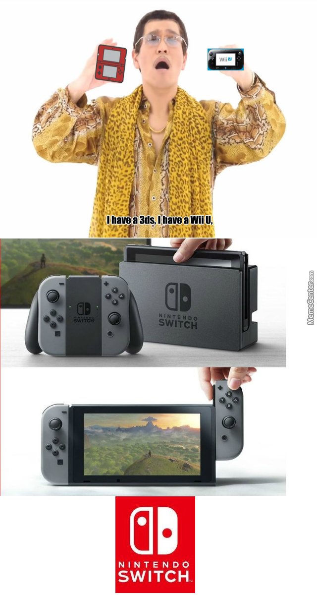 Image result for nintendo switch meme
