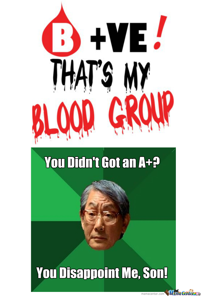 No A+ In Blood Group?