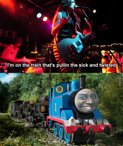No Brake On The Rape Train. (Song In The Source)