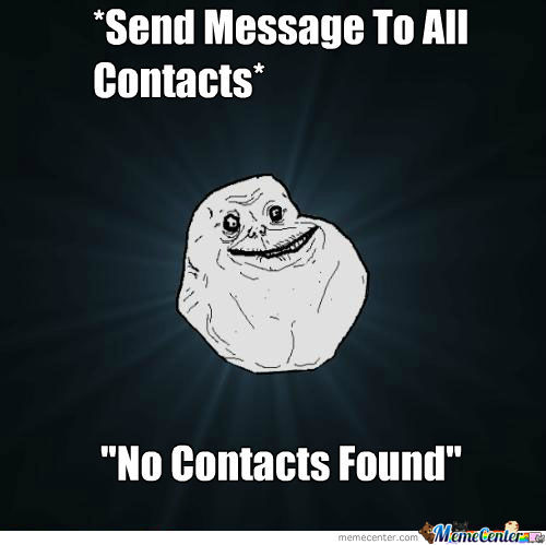 No Contacts Found