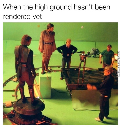 No Editing, No High Ground