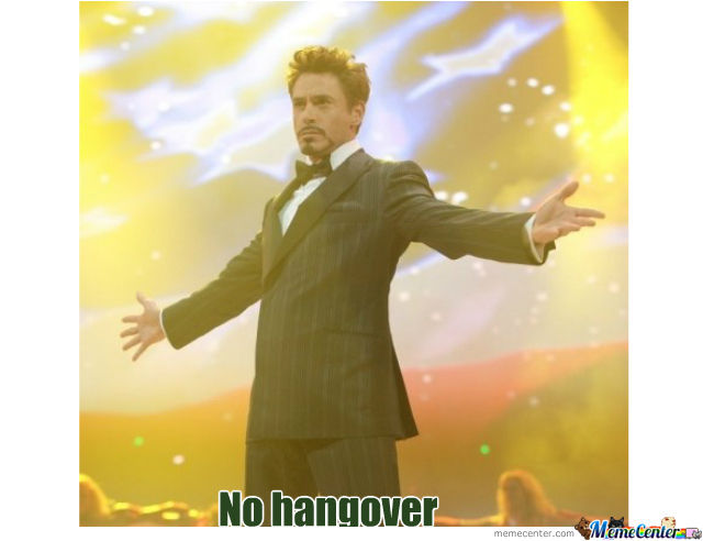 Image result for no hangover meme