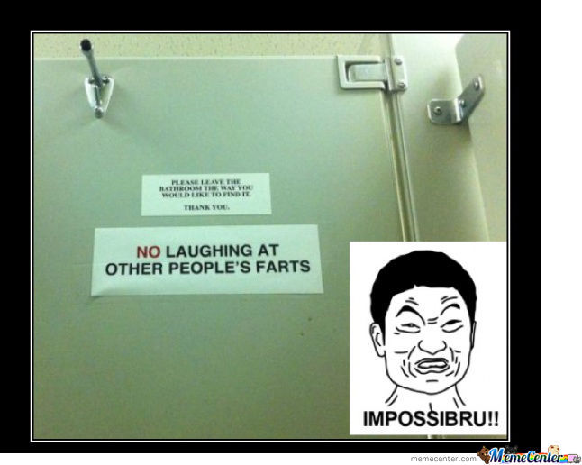 No Laughing At Peoples Farts