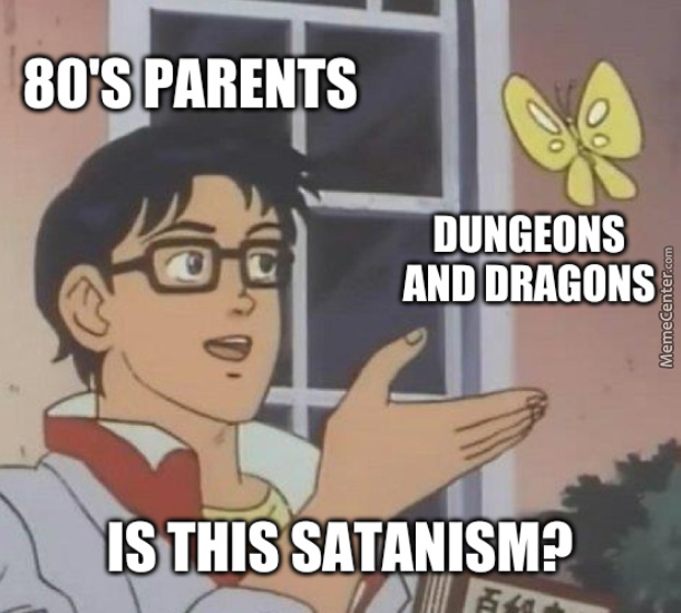 No Mom, I Wasn'T Trying To Summon Satan In The Basement With My Friends