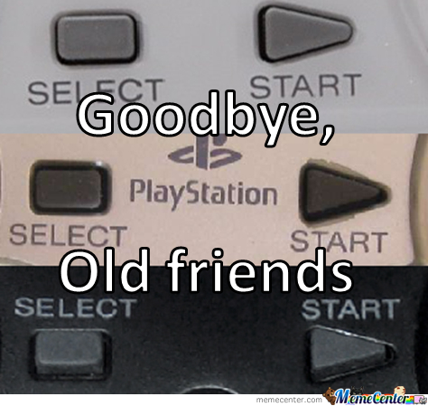 No More Start/select Buttons...