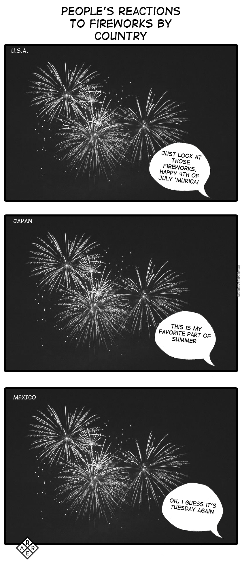 No Need For A Reason, Just Light A Fuking Firework