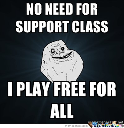 no need for support class