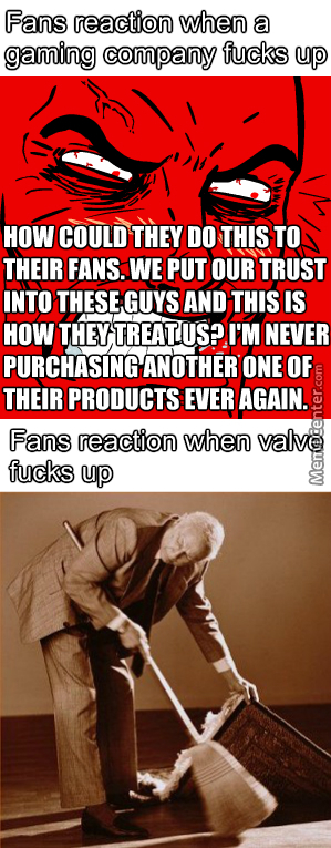 No No, It's Ok, Just Act Like It Never Happened, As Long As They Got Steam Sales It Doesn't Matter Right?