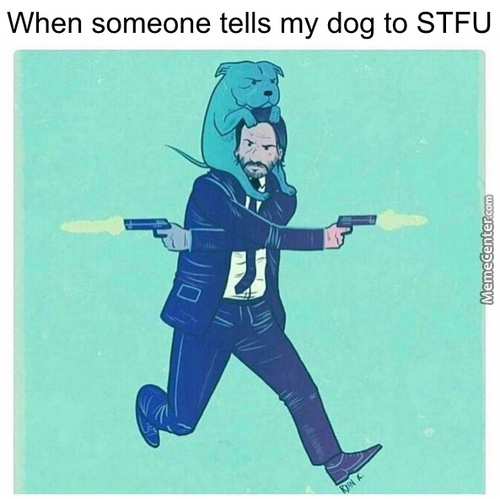 No One Dissrespects Pupper