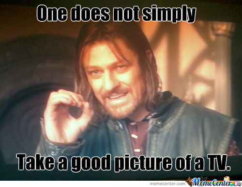 No, One Does Not.