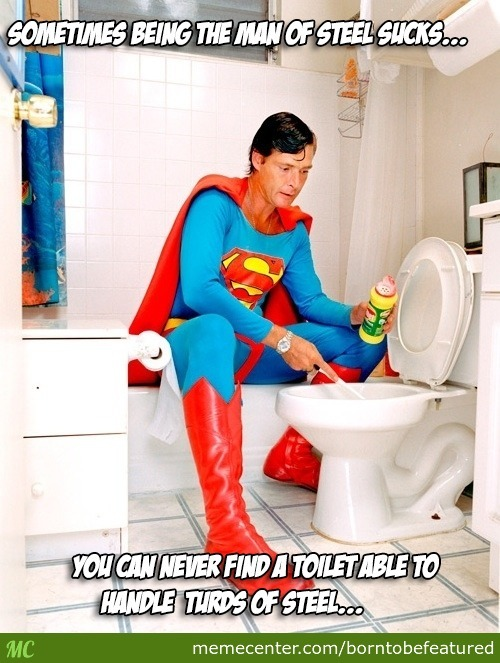 No One Puts Up With Superman's Shit.