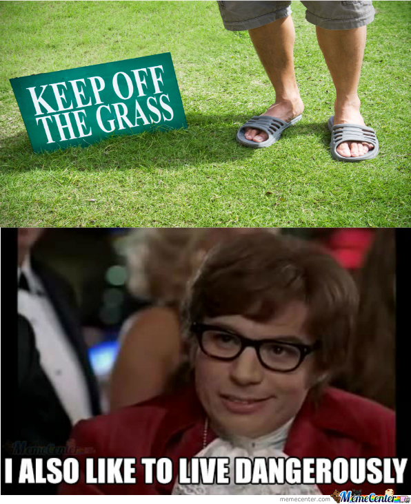 No One Tells Me What To Do With The Grass!