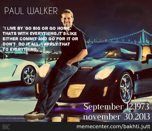 No One Will Ever Shift 42 Gears In 1/4 Mile Like U.... R.i.p Paul Walker