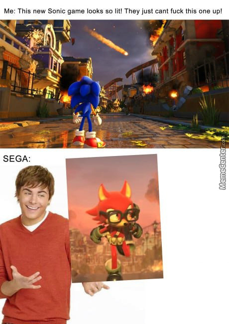 No Sega Put That Down Now
