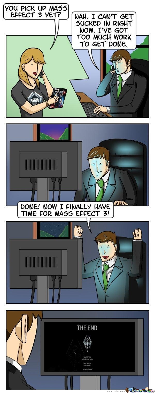 No Time For Mass Effect 3