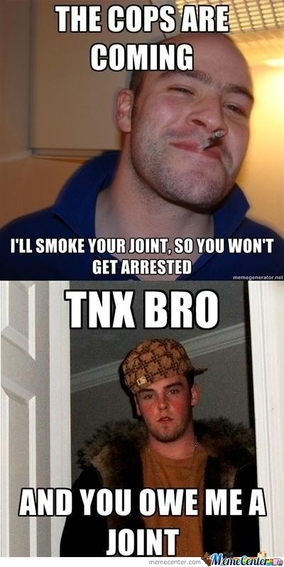 No Weed For You