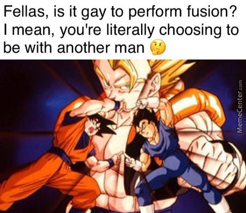 No Wonder Vegeta Hates Fusing