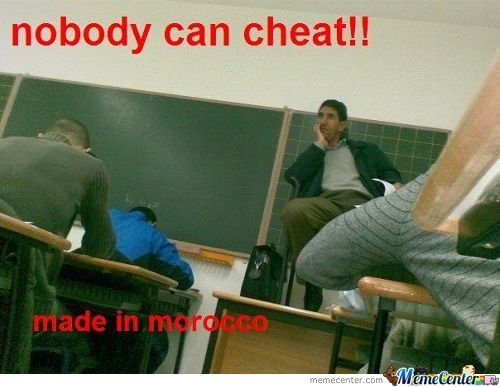 Nobody Can Cheat !!!