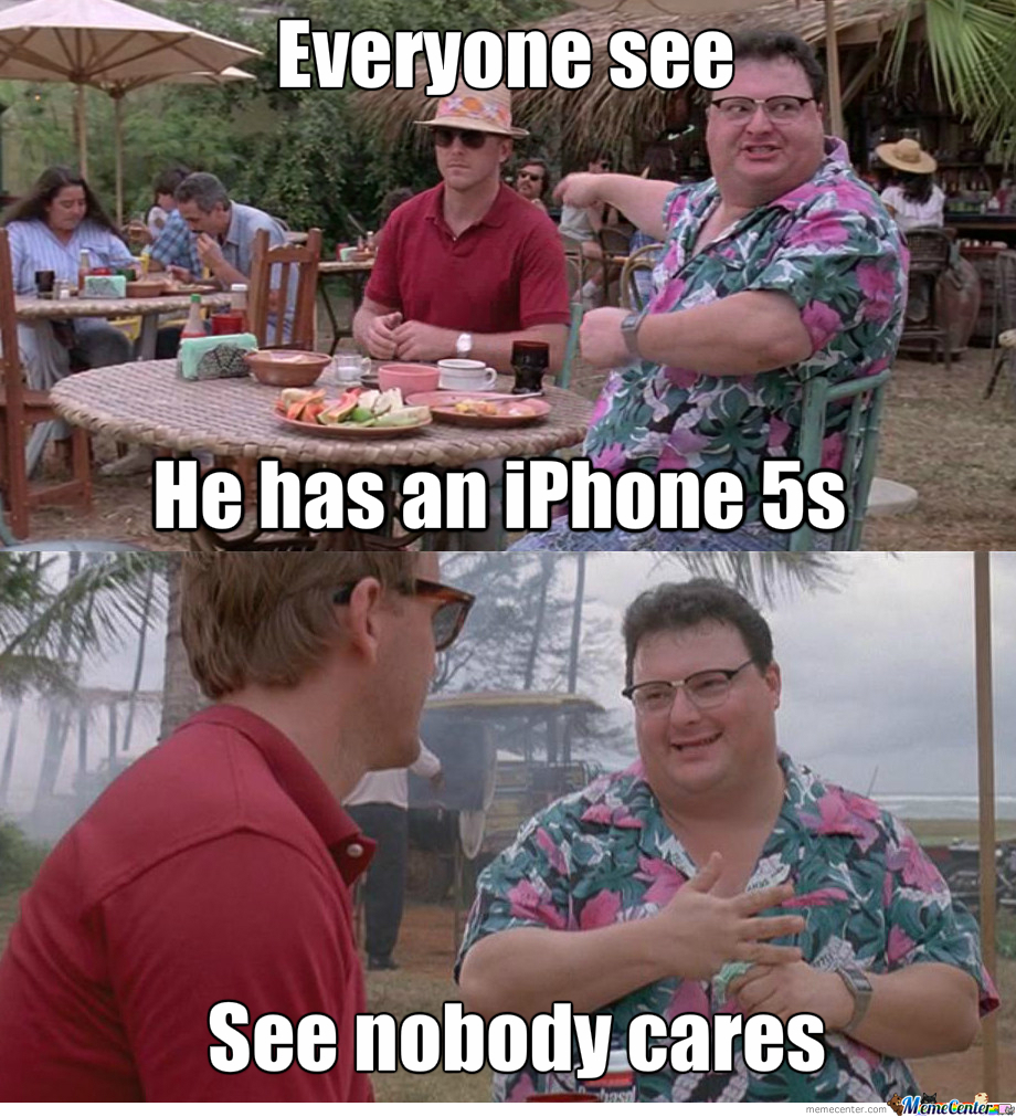Nobody Cares About The Iphone 5S