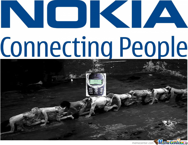 nokia connecting people_o_2420829 nokia connecting people by coordinatic meme center,Nokia Connecting People Meme