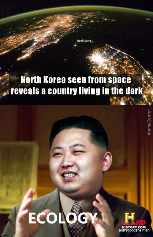 North Korea By Night